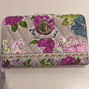 Vera Bradley Turn Lock wallet, NWOT Portobello Rd